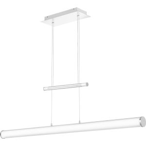 Platinum Collection Skyline Polished Chrome 49-Inch LED Linear Pendant