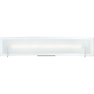Platinum Collection Stream Polished Chrome 23-Inch LED Bath Vanity