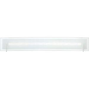Platinum Collection Stream Polished Chrome 31-Inch LED Bath Vanity