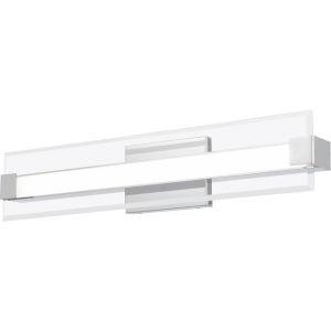 Platinum Collection Salon Polished Chrome 25-Inch LED Bath Vanity