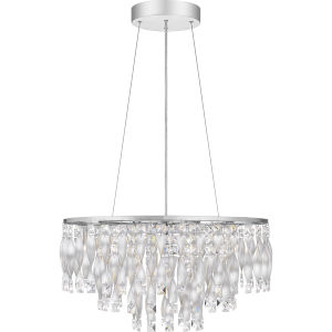 Twinkle Polished Chrome Six-Light Pendant
