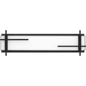 Wylie Earth Black 23-Inch LED Bath Vanity