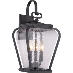 Province Mystic Black Nine-Inch Outdoor Wall Sconce