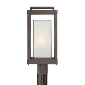 Powell Western Bronze One-Light Outdoor Post Light