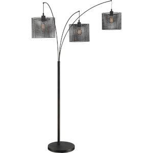 Quoizel Portable Lamp Three-Light Floor Lamp