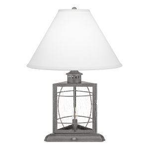 McKenna Galvanized One-Light Table Lamp