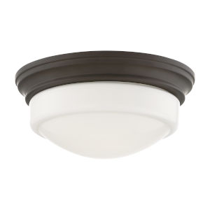 Old Bronze LED Flush Mount