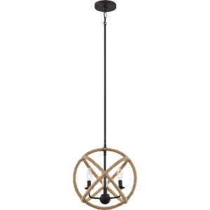 Steerage Western Bronze Three-Light Mini Pendant