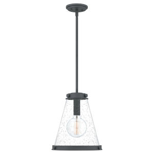 Bristol Mottled Black One-Light Pendant