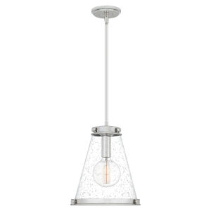 Bristol Polished Nickel One-Light Pendant