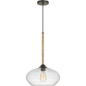 Merino Tarnished Bronze One-Light Pendant