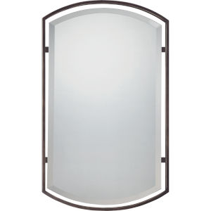 Rectangle Palladian Bronze Mirror