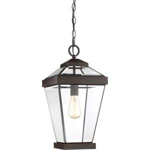 Ravine Western Bronze 10-Inch One-Light Outdoor Hanging Lantern