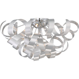 Ribbons Millenia Five-Light Flush Mount
