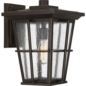 Rockport Palladian Bronze 15-Inch One-Light Outdoor Wall Sconce