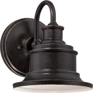 Seaford Imperial Bronze 8.50-Inch One Light Outdoor Wall Fixture