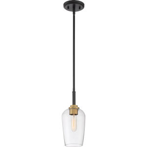 Sagamore Earth Black One-Light Mini Pendant