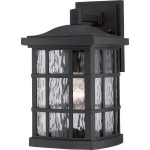 Stonington Mystic Black 13-Inch Height One-Light Outdoor Wall Mounted