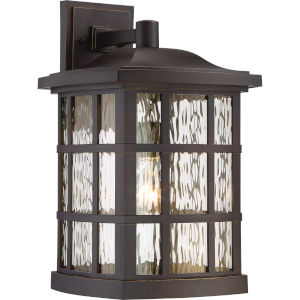 Stonington Palladian Bronze One-Light Outdoor Wall Sconce