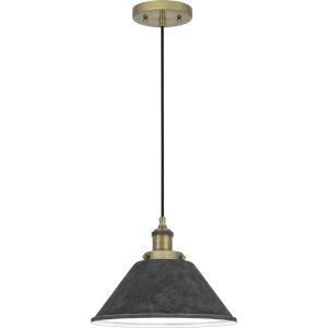 Sparrow Antique Brass One-Light Mini Pendant