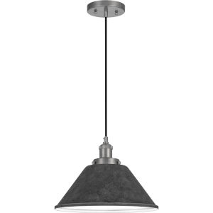 Sparrow Antique Nickel One-Light Mini Pendant