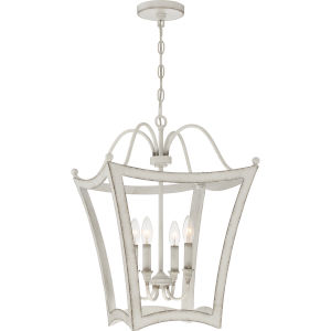 Summerford Antique White Four-Light Pendant