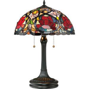 Larissa Vintage Bronze Two-Light Table Lamp