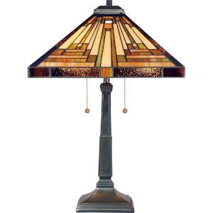 Stephen Vintage Bronze Two-Light Table Lamp