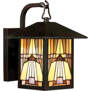 Inglenook Valiant Bronze 7-Inch One-Light Outdoor Wall Lantern