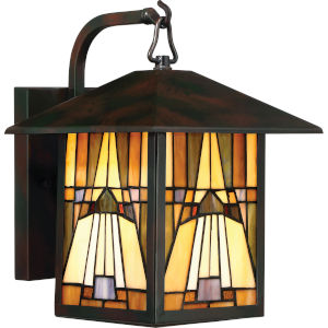 Inglenook Valiant Bronze 9-Inch One-Light Outdoor Wall Lantern
