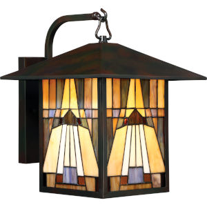 Inglenook Valiant Bronze 11-Inch One-Light Outdoor Wall Lantern