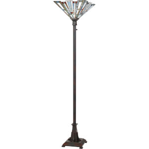 Maybeck Valiant Bronze One-Light Floor Lamp