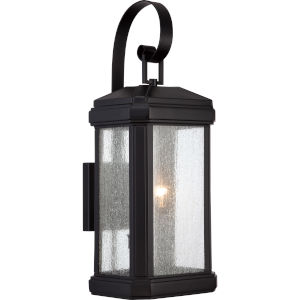 Trumbull Mystic Black 22.5-Inch Height Two-Light Outdoor Wall Mounted