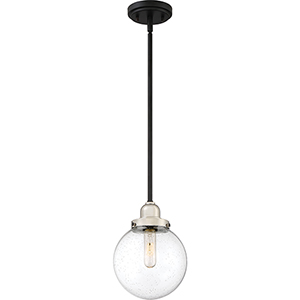 Trance Earth Black One-Light Mini Pendant