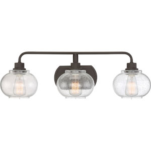 Trilogy Old Bronze Three-Light Bath Light