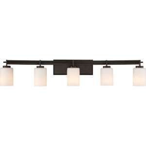 Taylor Western Bronze Five-Light Bath Light