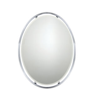 Uptown Ritz Polished Chrome Mirror