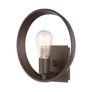 Uptown Theater Row Western Bronze Wall Sconce