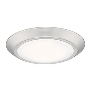 Verge Brushed Nickel LED Flush Mount (Set of 25)