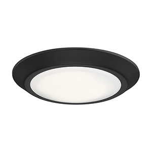 Verge Oil Rubbed Bronze Eight-Inch  LED Flush Mount