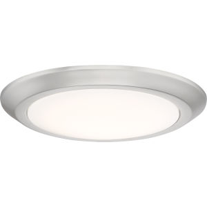 Verge Brushed Nickel 12-Inch LED Flush Mount