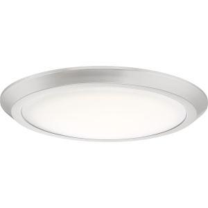 Verge Brushed Nickel 16-Inch LED Flush Mount
