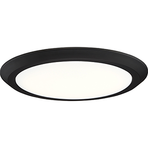 Verge Oil Rubbed Bronze 16-Inch LED Flush Mount