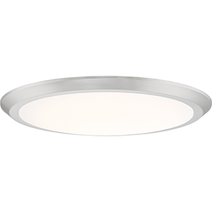 Verge Brushed Nickel 20-Inch LED Flush Mount (Set of 6)