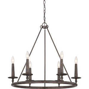 Voyager Malaga Six-Light Chandelier