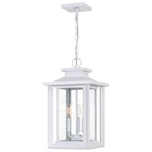 Wakefield White Lustre Three-Light Outdoor Pendant