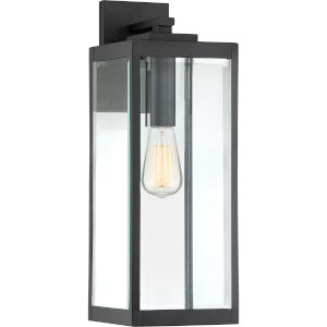 Westover Earth Black 20-Inch One-Light Outdoor Wall Sconce