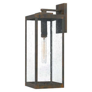 Westover Industrial Bronze Seven-Inch One-Light Outdoor Wall Mount