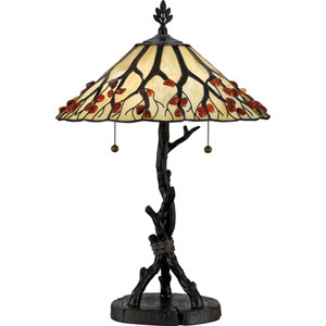 Agate Portable Valiant Bronze Table Lamp