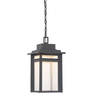 Beacon Stone Black LED Outdoor Pendant
